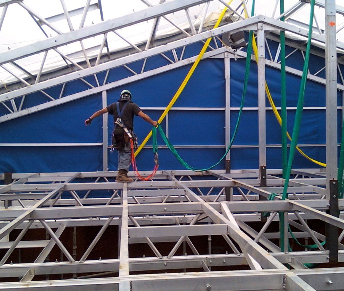 Temporary Enclosures For Construction : What are the benefits of using temporary enclosures for